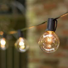 Vintage Patio Lights Exterior Outdoor Light Strands Bulbs Outdoor Deck String Lighting