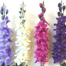 delphinium flowers artificial delphinium decorative flowers ebay
