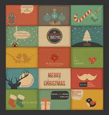 retro christmas cards christmas card inspiration for designers