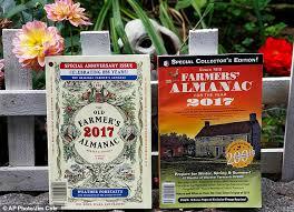 Farmers Almanac Florida Farmers U0027 Almanac Predicts An U0027ice Cold U0027 Winter As It Celebrates