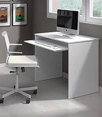 Small Pc Desk New Milan Small White Gloss Computer Desk By Furniture Factor