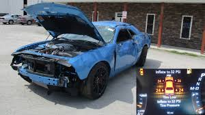 hellcat challenger 2017 engine how much would you pay for a u0027totaled u0027 dodge challenger hellcat