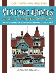 amazon com vintage homes coloring book antique victorian