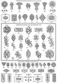Create Monogram Initials Masculine Monogram Font Google Search Monogram Fonts