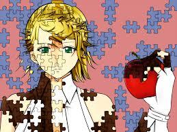 Puzzle Len Himitsu Kuro No Chikai Secret Black Vow Vocaloid Image