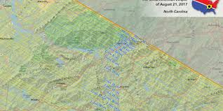 Map Of Western North Carolina Plan Your Wnc Total Solar Eclipse Viewing Spot Now