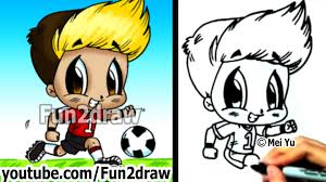 how to draw chibi how to draw a soccer player drawing
