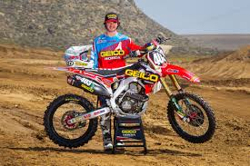 how to be a pro motocross rider geico honda announces rider lineup for pro motocross nationals