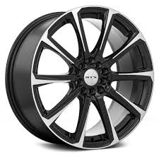 rtx皰 blade wheels black with machined face rims 248040 h