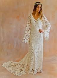 hippie wedding dresses 1960s hippie wedding dress naf dresses
