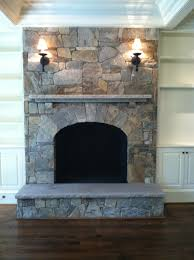 fireplace stone work home design