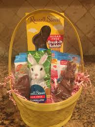 easter gift basket sugar free easter gifts at diabetic candy
