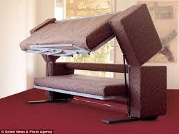 Bunk Bed Without Bottom Bunk 3 000 Sofa That Transforms Into A Bunk Bed Daily Mail