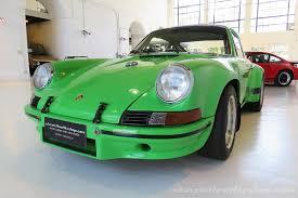 green porsche porsche 911 rsr special viper green classic throttle shop
