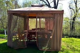 Outdoor Gazebo With Curtains Gazebo Outdoor Curtains Commonwealth Gazebo Outdoor Curtains