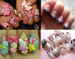 how to do your own japanese style 3 d nail art and not glue your