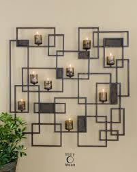 Uttermost Wall Sconces Uttermost Siam Metal Candlelight Wall Sculpture 20850