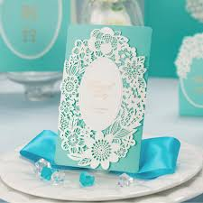 blue wedding invitations wholesale blue wedding decorations china laser cut