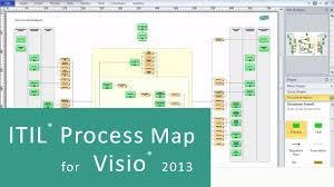 Home Floor Plan Visio by Itil Process Map For Visio 2010 Visio 2013 Youtube