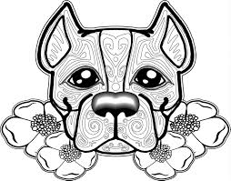 dog coloring pages for adults omeletta me