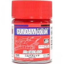 xug05 gundam color nimbus red 18ml bottle paint hobby