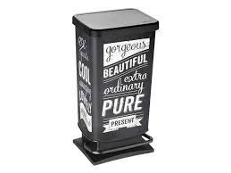 poubelles cuisine originales poubelle de cuisine pas cher promo et soldes la deco