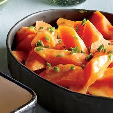 Thanksgiving Carrots Honey Mustard Glazed Carrots Recipe Myrecipes