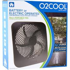 o2cool 10 inch battery or electric portable fan amazon com o2cool portable fan with ac adapter dual power source