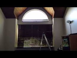 Wholesale Blind Factory Arch Blind Faux Wood Youtube