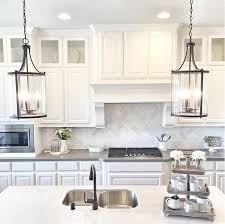 pendant lights for kitchen islands white kitchen inspiring interiors kitchens