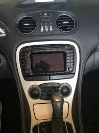 car dvd player for mercedes sl r230 sl350 sl500 sl55 sl600 sl65
