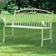 Cream Garden Bench Garden Benches U2013 Next Day Delivery Garden Benches From Worldstores