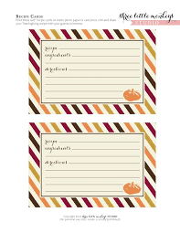 free printable thanksgiving recipes happy thanksgiving