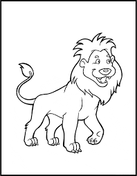 lion coloring page animals town animals color sheet lion
