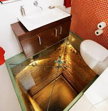 One Way Mirror Bathroom by Would You Be Willing To Use A Toilet On The Hidden Side Of Of One