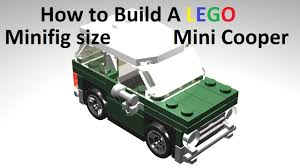 mini cooper polybag how to build a mini cooper custom mod instructions youtube
