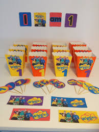 Birthday Decoration Ideas At Home The Wiggles Birthday Party Decorations With Free Printable Images