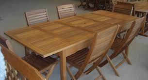 Wood Patio Table Teak Wood Patio Outdoor Furniture Patio Table Set