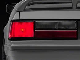 93 mustang lx tail lights foxbody mustang light covers tint americanmuscle