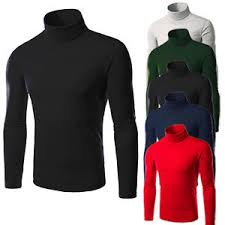 high sweaters s thermal high collar turtle neck skivvy sleeve sweaters