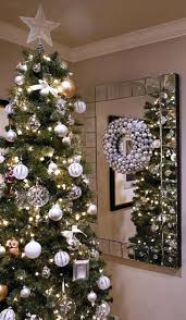 White Metal Christmas Tree Decorations by Mixed Metals Christmas Decor U2026 U2013 Design Indulgences