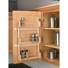 Kitchen Cabinets Spice Rack Pull Out Shop Rev A Shelf Wood In Cabinet Spice Rack At Lowes Com