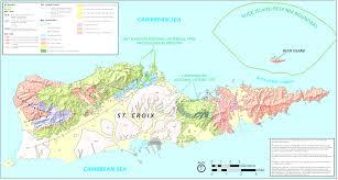 Caribbean Sea Map Printable Travel Maps Of The Virgin Islands Beauteous Saint Thomas