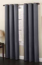 Contemporary Drapery Panels Montego Grommet Top Curtain Panels U2013 Mineral U2013 Lichtenberg View