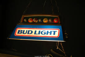 bud light pool table light the difference auction 4 estates in northern california item bud