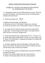 maths ks3 worksheet u2013 estimation and rounding by mrbuckton4maths