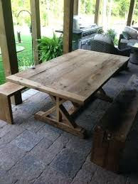 reclaimed wood outdoor table best of reclaimed wood outdoor furniture and stunning reclaimed wood