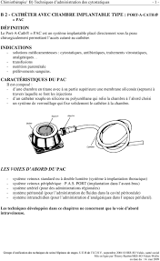 chambre implantable d馭inition b 2 cathéter avec chambre implantable type port a cath pac pdf