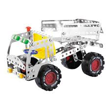 3d assembly metal truck vehicles model kits toy car building