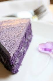 ube butter cream cake also known as taro cake ube oo beh is a